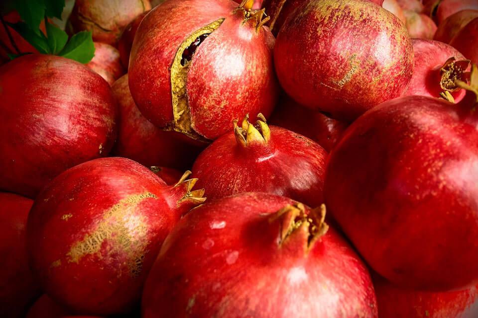 Frutas de Otoño: Granadas