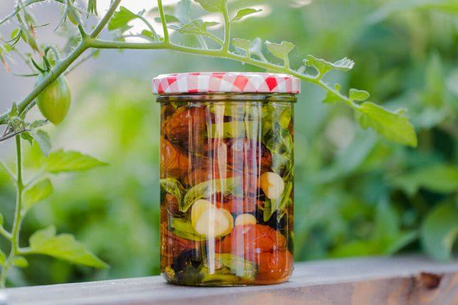 Métodos de conservación de alimentos